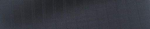 【Ib_5w108】黒紺地+7ミリ巾織りストライプ