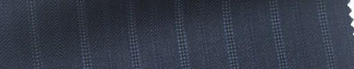 【Ib_5w116】ブルー柄+1.4cm巾白・織り交互ストライプ