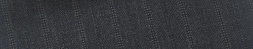 【Ib_5w117】チャコールグレー柄+1.4cm巾白・織り交互ストライプ