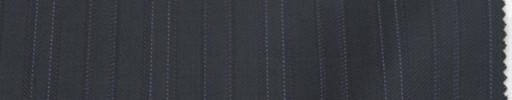 【Lo_6w66】ダークネイビー柄+3cm巾パープル・白交互ストライプ