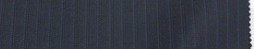 【Lo_6w70】ダークネイビー柄+5ミリ巾黒・ブルーストライプ