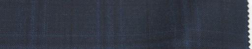 【Lo_6w72】ダークブルーグレー+5×4cmブルー・黒プレイド