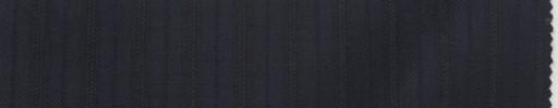 【Lo_7f05】ダークネイビー柄+1.2cm巾織り交互ストライプ
