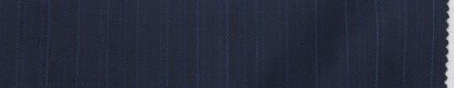 【Lo_7f06】ネイビー柄+9ミリ巾ブルーストライプ