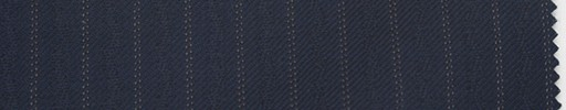 【Du_4w152】紺地+9ミリ巾ドット・織り交互ストライプ