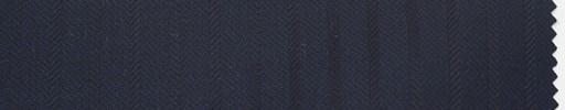【Du_4w154】濃紺地+6ミリ巾織りストライプ