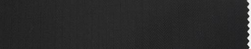 【Du_4w163】黒6ミリ巾ヘリンボーン
