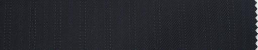 【Du_4w168】濃紺柄+8ミリ巾織り交互ストライプ