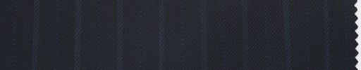【Du_4w175】ダークブルーグレー地+1.1cm巾織り交互ストライプ