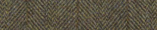 【Ht_5w061】イエローブラウンブロークンヘリンボーン+6.5×5cm赤茶・ブラウンプレイド