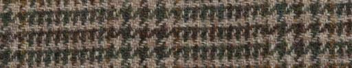【Ht_5w062】ブラウン・グリーンミックス7cmファンシーチェック