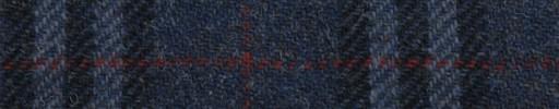【Ht_5w065】ブルーグレータータン+10×9cm赤ウィンドウペーン