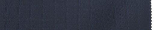 【Br_6w06】濃紺柄+9ミリ巾ブルー・織りストライプ