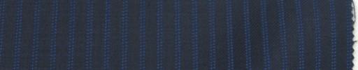 【Br_6w07】濃紺地+5ミリ巾ブルーWドットストライプ