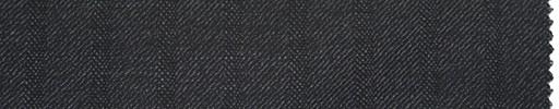 【Er_4w182】チャコールグレー地+1.2cm巾織りストライプ