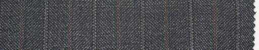 【Er_4w183】グレー地+1.9cm巾エンジ・織り交互ストライプ