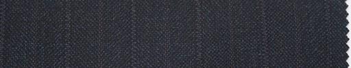 【Er_4w184】ダークブルーグレー地+1.9cm巾エンジ・織り交互ストライプ