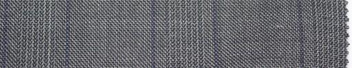 【Er_4w185】グレーグレンチェック+6×5cmパープルプレイド