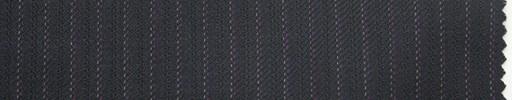 【Ma_0001】濃紺柄+4ミリ巾白・赤紫ストライプ