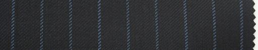 【Ma_0006】濃紺地+1cm巾ブルーストライプ