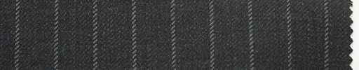 【Ma_0007】チャコールグレー地+1cm巾グレーストライプ