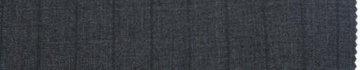 【To_7s08】ミディアムグレー+1.3cm巾グレーストライプ