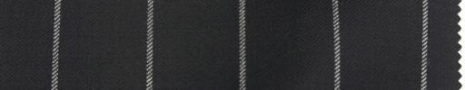 【Br_0w05】ブラック+2.6cm巾ストライプ