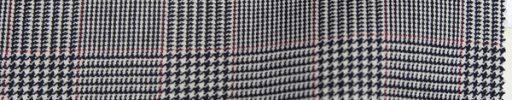 【Br_0w07】白黒5×4cmグレンチェック+エンジプレイド