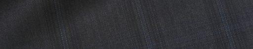 【Dov_0s02】ダークブラウングレー+4.5×4cmライトブルー・黒チェック