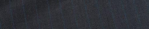 【Dov_0s04】チャコールグレーヘリンボーン+1cm巾ブルーストライプ