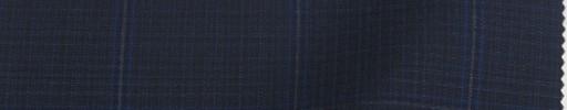 【Re_9w06】ネイビーミニチェック+4.8×4.2cmグレー・ブルーペーン