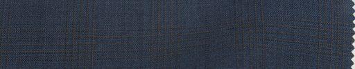 【To_s06】ブルーグレー+3.5×3cmブラウン・織りチェック