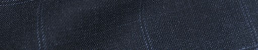 【Bm08w_37】ブルーグレーチェック+4.8×4.4cmオーバープレイド
