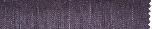 【Hs_ch02】パープル柄+1.4cm巾グレー・白交互ストライプ