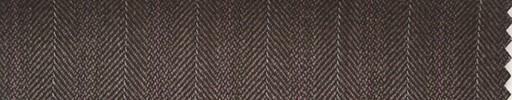 【Hs_ch03】ブラウン柄+1.4cm巾オレンジ・白交互ストライプ