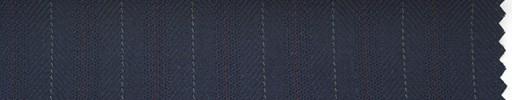 【Hs_ch04】濃紺柄+1.4cm巾赤茶・白交互ストライプ