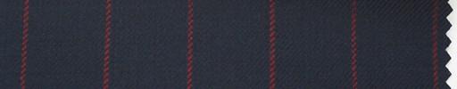【Hs_ch05】濃紺地+2cm巾赤ストライプ