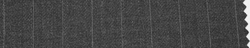 【Hs_ch09】ミディアムグレー地+1.3cm巾ストライプ
