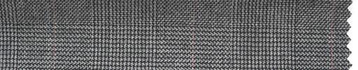 【Hs_ch16】グレーグレンチェック+6×4.5cmピンクプレイド