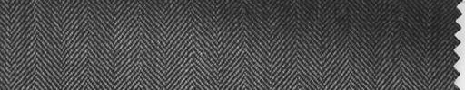 【Hs_ch23】ミディアムグレー1.3cm巾ヘリンボン