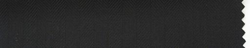 【Hs_ch26】黒1.3cm巾ヘリンボン