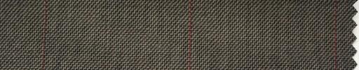 【Hs_ch47】ブラウン+6×4.5cmオレンジプレイド