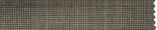 【Hs_ch50】ブラウングレンチェック+5×4cm水色プレイド