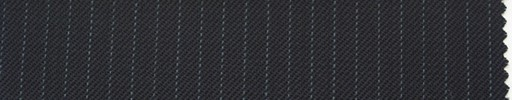 【Ib_0126】黒紺地+4ミリ巾薄ブルーストライプ