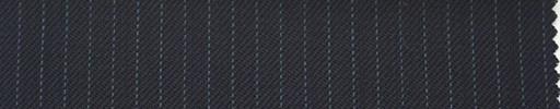 【Ib_0127】濃紺地+4ミリ巾薄ブルーストライプ