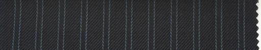 【Ib_0146】黒紺地+7ミリ巾ブルーWストライプ