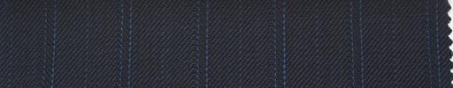 【Ib_0148】濃紺柄+1.5cm巾ブルー・織り交互ストライプ