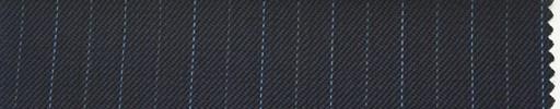 【Ib_0150】濃紺地+1.2cm巾ブルー交互ストライプ