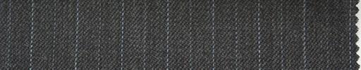 【Ib_0151】ミディアムグレー地+1.2cm巾薄ブルー交互ストライプ