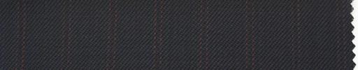 【Ib_0152】黒紺柄+1.2cm巾エンジ・織り交互ストライプ